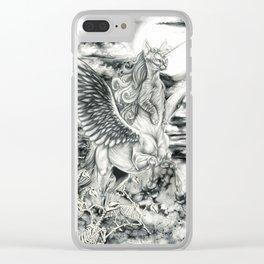 Alicorn Sphynx Clear iPhone Case