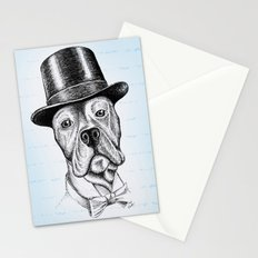 I'm too SASSY for my hat! Vintage Pup. Stationery Cards