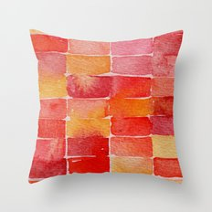 August Throw Pillow