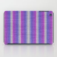 knitting iPad Cases featuring grannys knitting  by MehrFarbeimLeben
