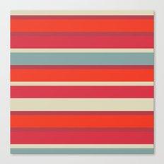 Stripes blush Canvas Print