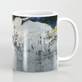 Mellow Yellow Texture Collage Coffee Mug