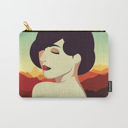Girl Retro Style 04 Carry-All Pouch