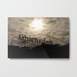 Ghirardelli Metal Print