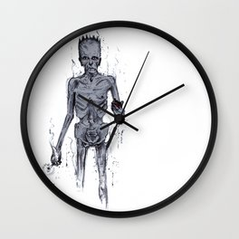 Trying To Cut Down. Wall Clock