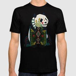 panda orange T-shirt