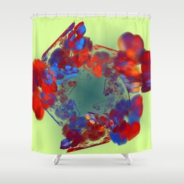 The Flower I Love Shower Curtain