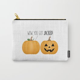 Wow, You Got Jacked! Carry-All Pouch
