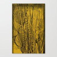 plants Canvas Prints featuring plants by White Ghöst