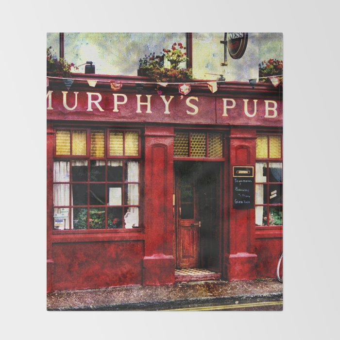 Murphys Pub, Dingle Throw Blanket