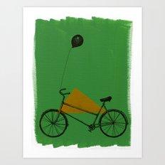confidant II. (bicycle) Art Print