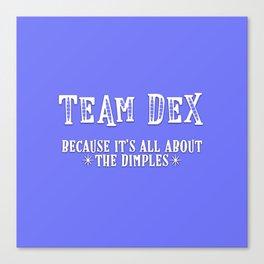 Team Dex Canvas Print