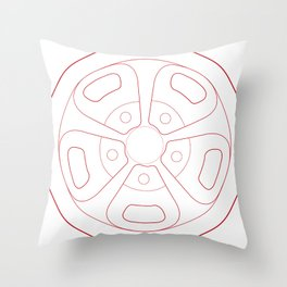 Cragar Magnum Throw Pillow