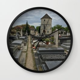 A Walk Among the Ghosts Wall Clock