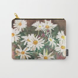 Still Life of Daisies Carry-All Pouch