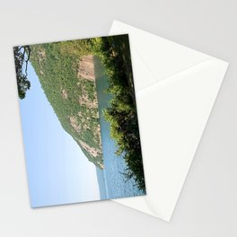 Roger's Rock on Lake George, NY Stationery Cards