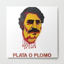 Pablo Escobar Metal Print