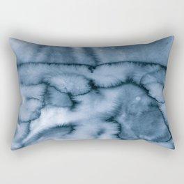 grey blues Rectangular Pillow