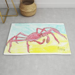 Giant Japanese Spider Crab Rug