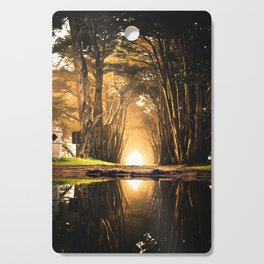 Magical Paradise (Color) Cutting Board