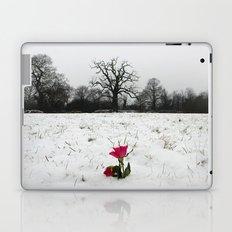 Rose in the snow Laptop & iPad Skin