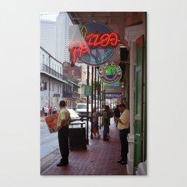 New Orleans Neon 2004 Canvas Print