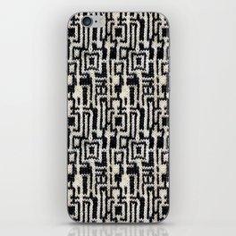 Maze Knit iPhone Skin