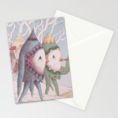 Drummer Bird Leaving Stationery Cards