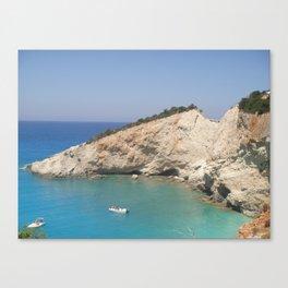 Greece - Lefkada Canvas Print