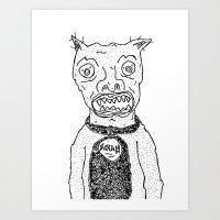 satan Art Prints featuring Satan by SECRET EYE