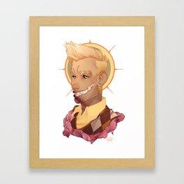 welcome to desert bluffs - kevin Framed Art Print