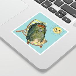 Mega Monsters Sunbath III. Sticker