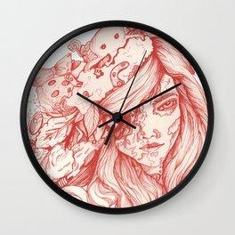 Wonderful Cybernetic Thinking Machine Wall Clock
