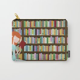 When in doubt, go to the library Carry-All Pouch