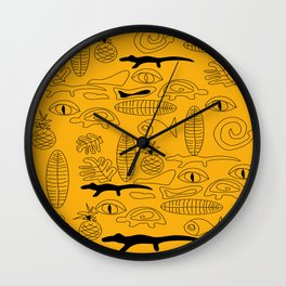 Crocodile Dream Wall Clock