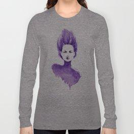 Purple Water Faery Long Sleeve T-shirt