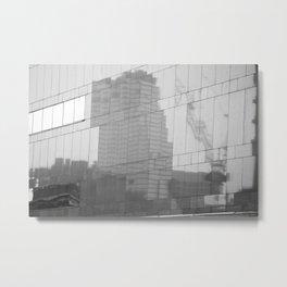 Reflection of BKK III Metal Print