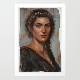 Misthios Art Print
