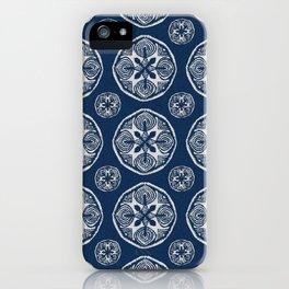 Shibori Cutlings iPhone Case