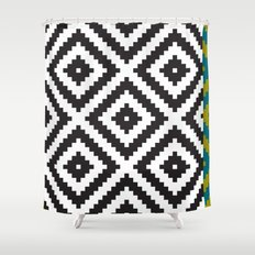 IKEA LAPPLJUNG RUTA Rug Pattern Shower Curtain