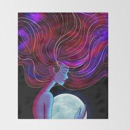Stars In My Soul Throw Blanket