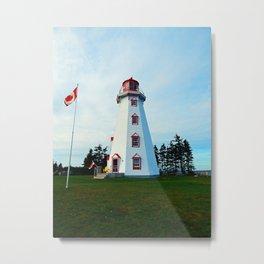 Panmure Island Lighthouse Metal Print