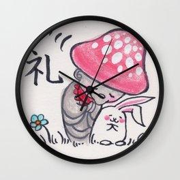 KINOKOJIZO 2 Wall Clock