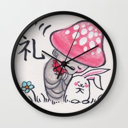 KINOKOJIZO 2 Wall Clock