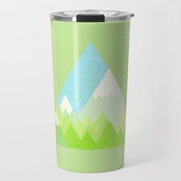 national park geometric pattern Travel Mug