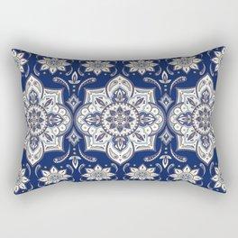 Arabesque floral pattern – Oriental paisley motif from Persian Rug Rectangular Pillow