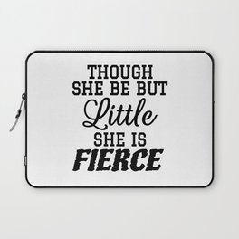 Little & Fierce Laptop Sleeve