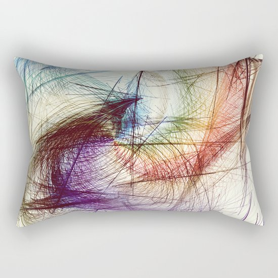 Weave IV Rectangular Pillow