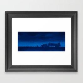 The Rig Framed Art Print