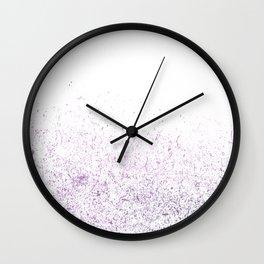 purple dusts#3 Wall Clock